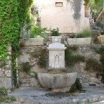 Another fountain in medieval village