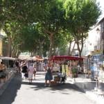 Marché à Cotignac, Provence