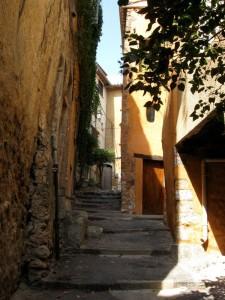 Medieval village in Provence