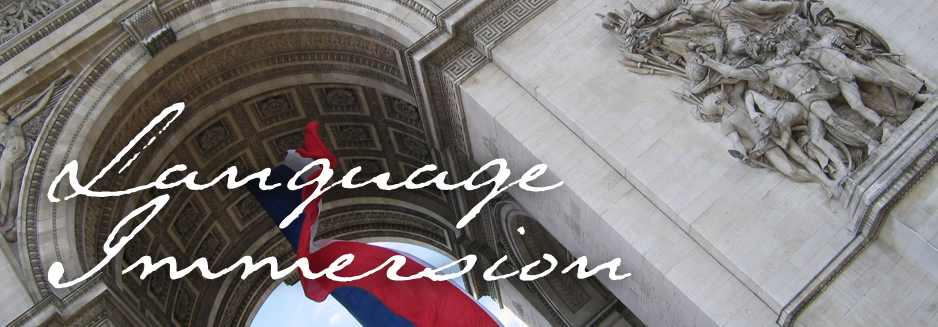French Language Immersion Travel 2017