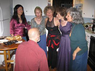 Kitchen singing