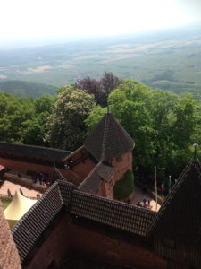 View from Haut Koenigsbourg