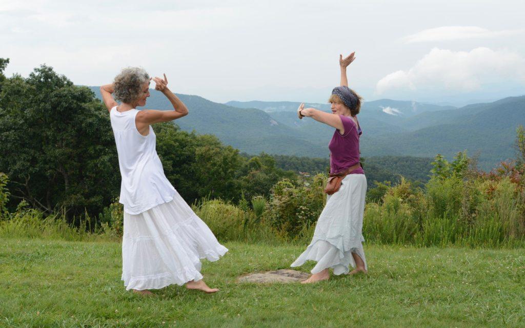 Dancing Blue Ridge Mtns